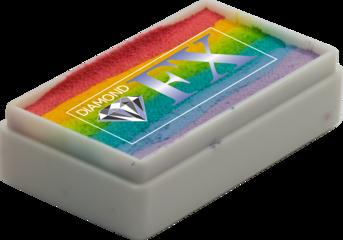 RS30-04 - Blurred SPLIT CAKE Medium size Diamond Fx