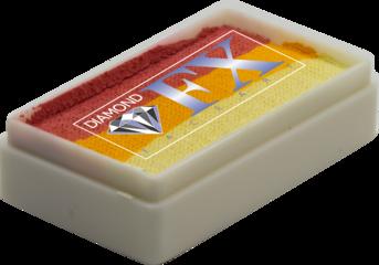 RS30-18 - Butter Cupcake SPLIT CAKES Medium size Diamond Fx