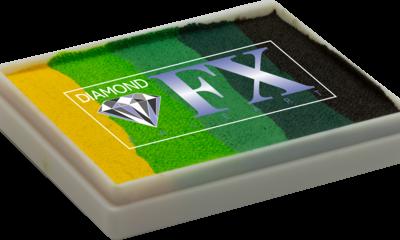 RS50-08 - Green Carpet SPLIT CAKES Big size Diamond Fx