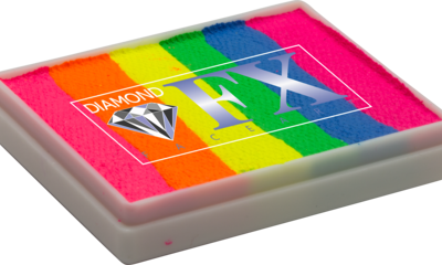 RS50-24 - Color Splash SPLIT CAKES Big size Diamond Fx