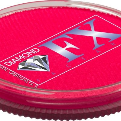 125 – Colore Rosa Neon Aquacolor 32 Gr. Diamond Fx