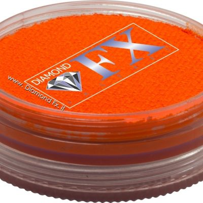 240 – Colore Arancio Neon Aquacolor 45 Gr. Diamond Fx