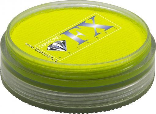 250 – Colore Giallo Neon Aquacolor 45 Gr. Diamond Fx