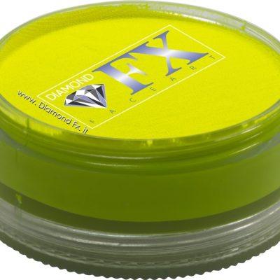 350 – Colore Giallo Neon Aquacolor 90 Gr. Diamond Fx