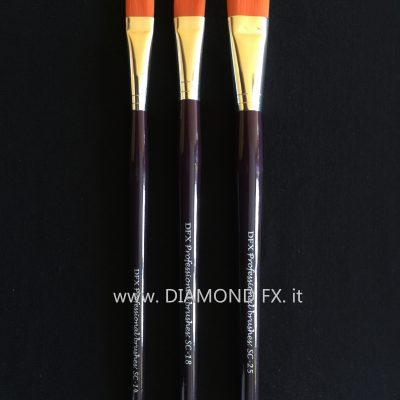 DFX-SC - Pennelli Professionali Piatti Diamond Fx