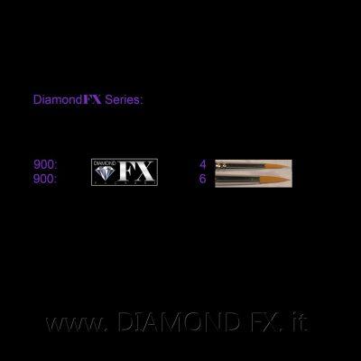 DFX900 - Pennelli Basic a Punta Diamond Fx