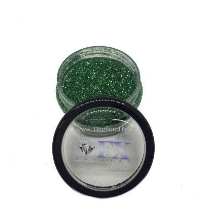 GL03 - Glitter VERDE GIADA Cosmetico Diamond Fx 5 Gr.