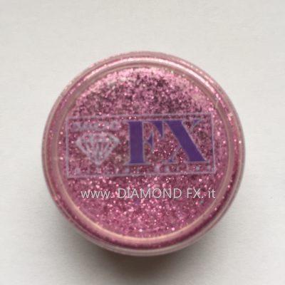 GL06 - Glitter ROSA Cosmetico Diamond Fx 5 Gr.