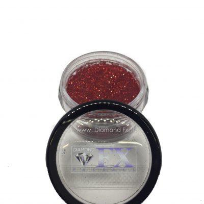 GL11 - Glitter ROSSO Cosmetico Diamond Fx 5 Gr.
