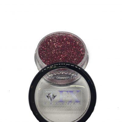 GL16 - Glitter CRISTAL ROSSO Cosmetico Diamond Fx 5 Gr.