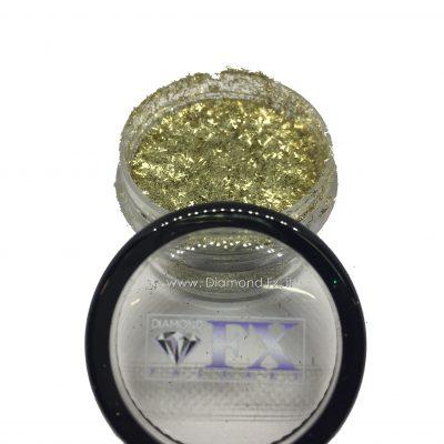 GL21 - Glitter FIBRE ORO Cosmetico Diamond Fx 5 Gr.