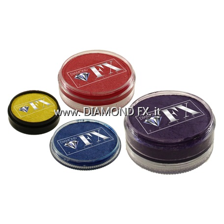 Colori Perlati-Metallici Aquacolor Diamond Fx